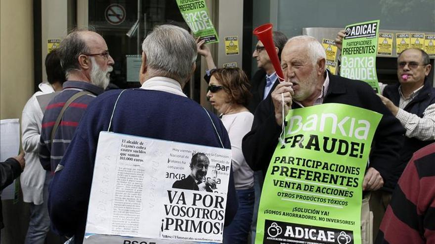 Casi 123.000 clientes de Bankia recuperarán lo invertido en preferentes