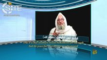 Imagen del mensaje lanzado por Aymán al Zawahiri el pasado 4 de octubre.