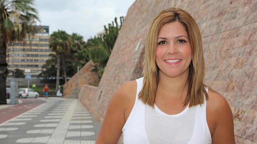 Ylenia Pulido, consejera de Arquitectura y Vivienda del Cabildo de Gran Canaria. (ALEJANDRO RAMOS)