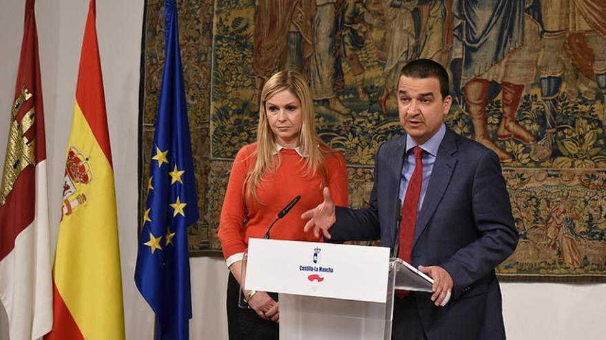 Elena de la Cruz y Francisco Martínez Arroyo / JCCM