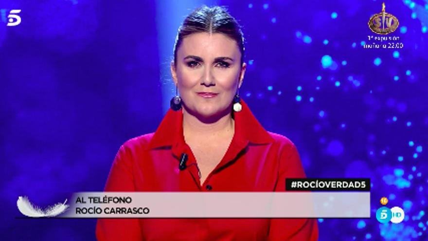 Carlota Corredera, al teléfono con Rocío Carrasco