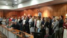 Seguimiento de la huelga de jueces en Andalucía