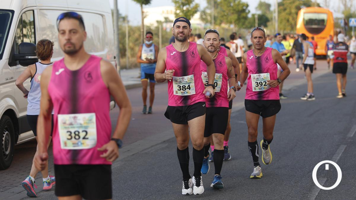 Imagen de una prueba de atletismo en Córdoba