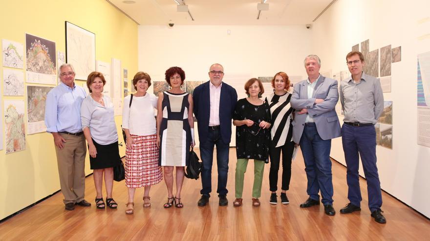 Inauguración de la exposición 'El paisaje como objetivo'