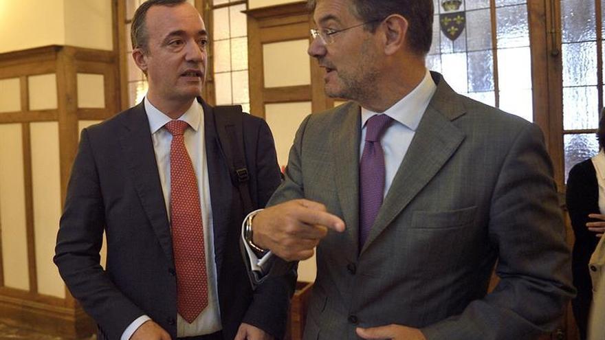 Catalá defiende el acuerdo por la justicia como una oportunidad histórica