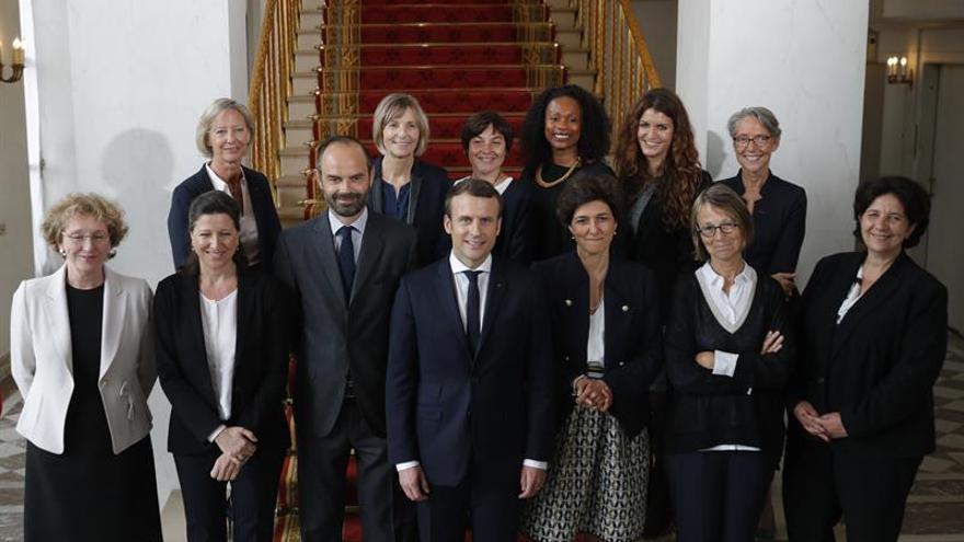 El Gobierno de Macron gusta más al votante de derechas que al de izquierdas