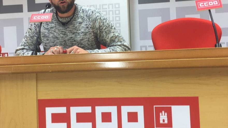 El coordinador del Sector Autonómico de CCOO-FSC, Ramón González
