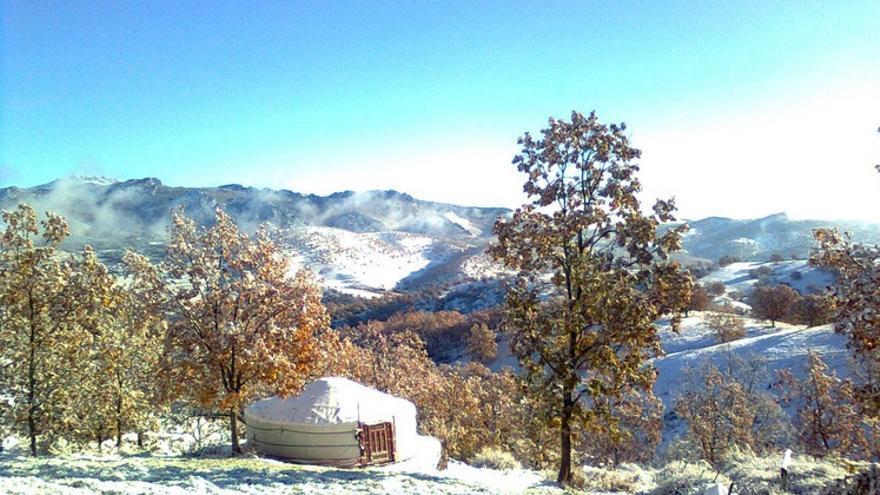 El Ricón de los Cerezos, nevado / http://elrincondeloscerezos.blogspot.com.es