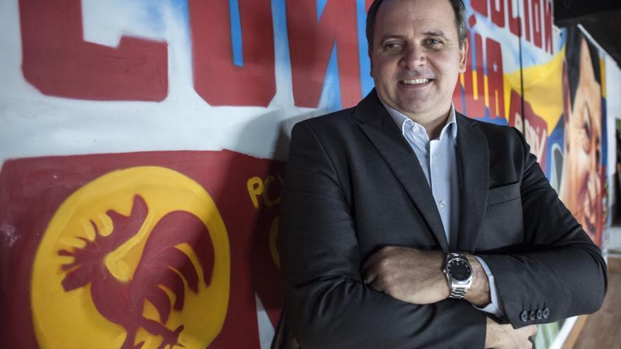 Eugenio Martínez, embajador de Cuba en España. | JOAQUÍN GÓMEZ SASTRE