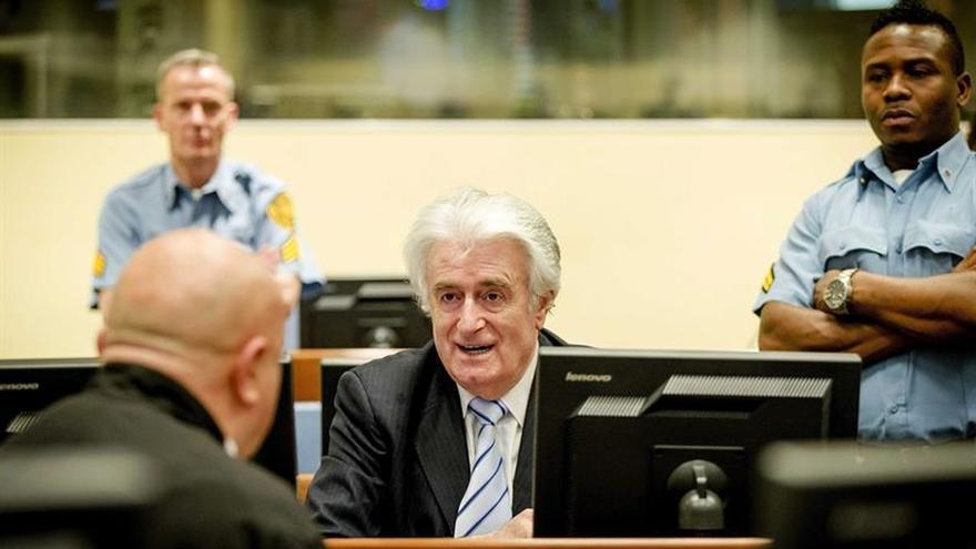 El fiscal recurre la sentencia contra Karadzic y pide cadena perpetua