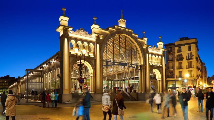 Recreación de cómo será el Mercado Central tras su remodelación