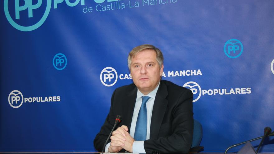 El portavoz parlamentario del PPCLM, Francisco Cañizares