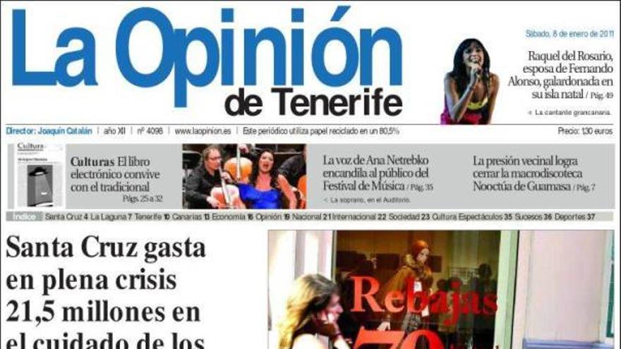 De las portadas del día (08/01/2011) #5