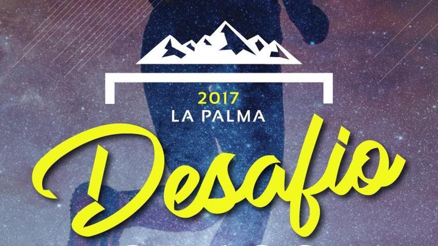 Cartel de la quinta edición de 'Desafío GR-130' a favor de Niños Especiales de La Palma.