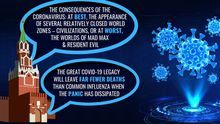 """La UE acusa a Rusia de montar una campaña de """"desinformación"""" para crear """"confusión, pánico y miedo"""" en torno al coronavirus"""