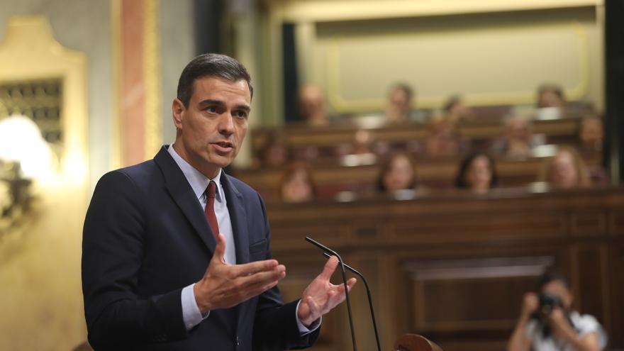 Sánchez responde a Pablo Casado.