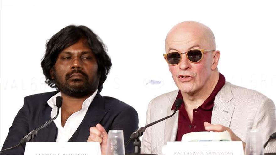 """Audiard no convence en Cannes con """"Dheepan"""", sobre la inmigración ceilandesa"""