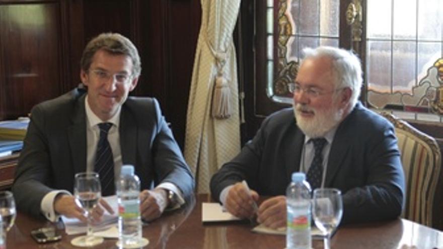 Reunión de Feijóo y Cañete en el ministerio de Agricultura