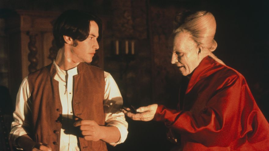 Gary Oldman y Keanu Reeves en 'Dracula' (1992)
