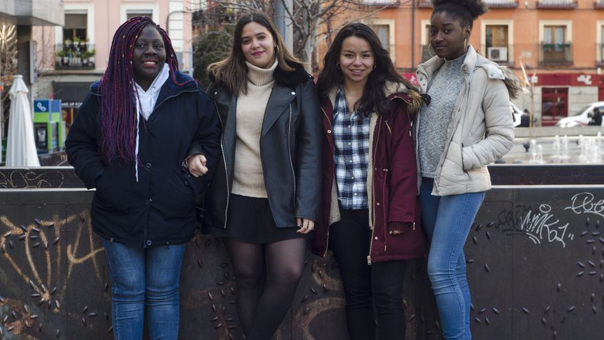 Ellas son algunas de las mujeres racializadas que han lanzado un vídeo para denunciar el racismo y machismo que sufren de forma cotidiana.