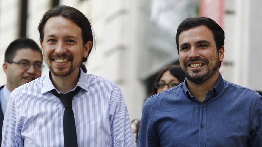 """Garzón evita asumir la nueva socialdemocracia que propugna Iglesias y sólo se declara """"cómodo en la confluencia"""""""