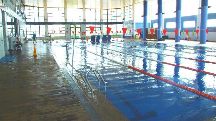 La piscina de Calp.