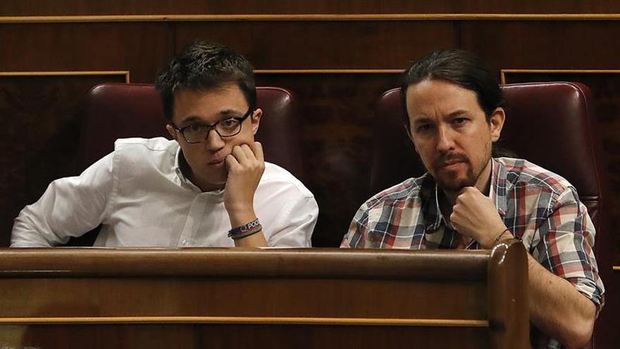 Iglesias y Errejón no asistirán a los actos de la Constitución en el Congreso