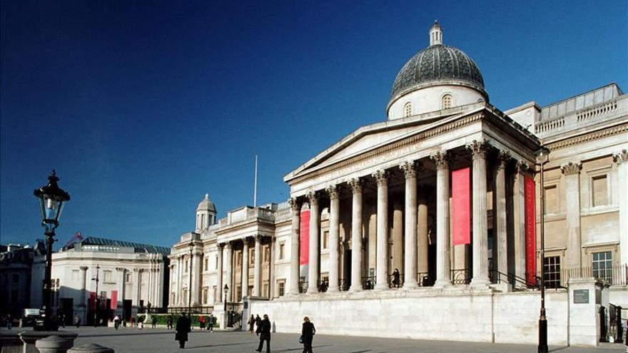 Los empleados de la National Gallery, en huelga contra la privatización