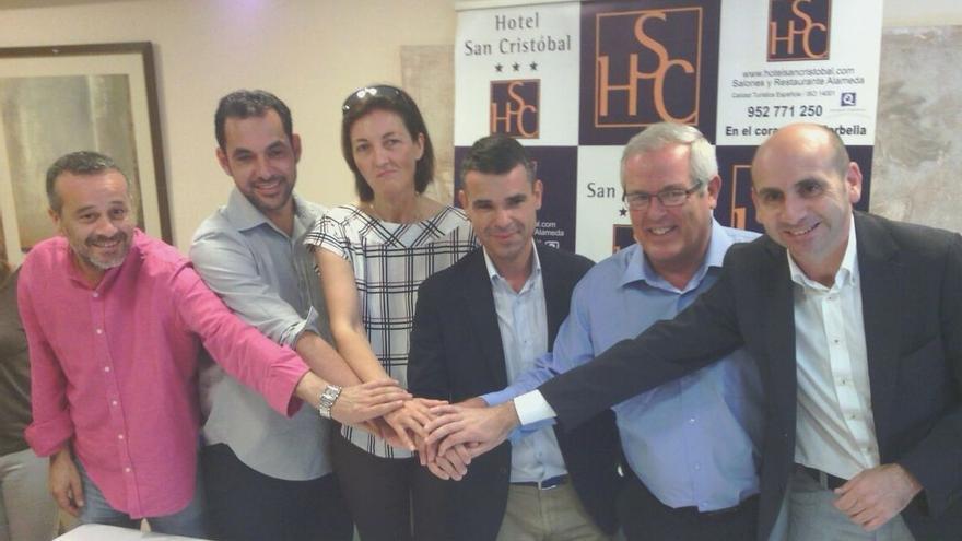 """PSOE, CSSP, OSP e IU en Marbella ratifican un acuerdo de gobierno """"social, de transparencia y ciudadano"""""""