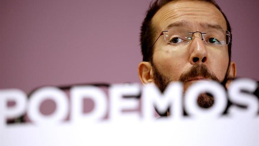 Echenique advierte a Podemos de que le puede pasar como al PSOE