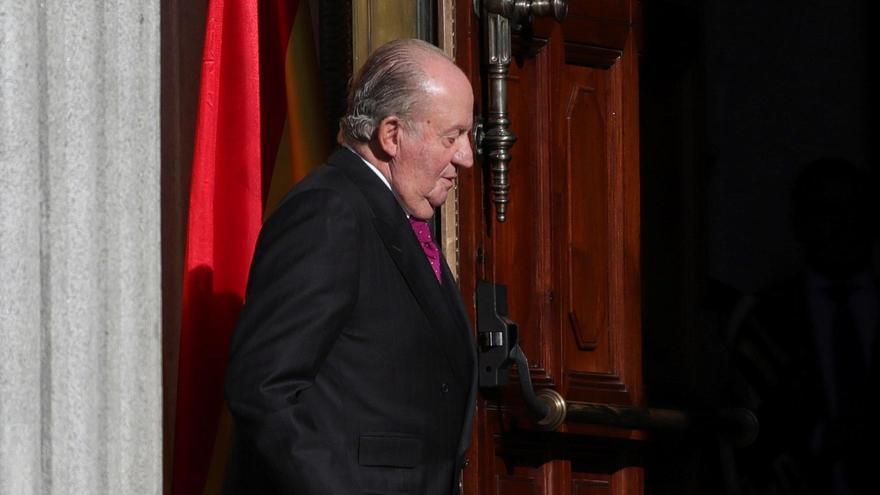 El rey emérito Juan Carlos I. EFE/JuanJo Martín/Archivo