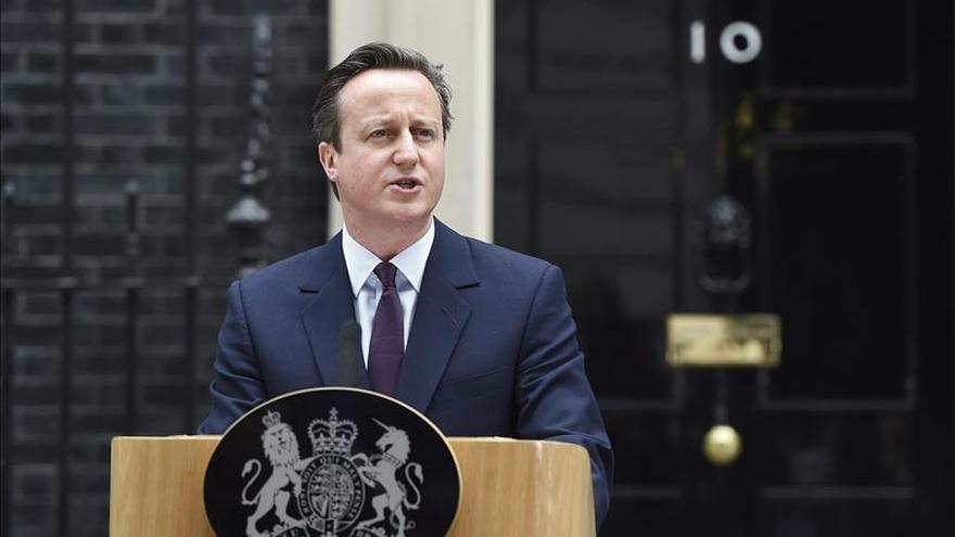Una protesta contra el Gobierno de Cameron deja cuatro agentes heridos