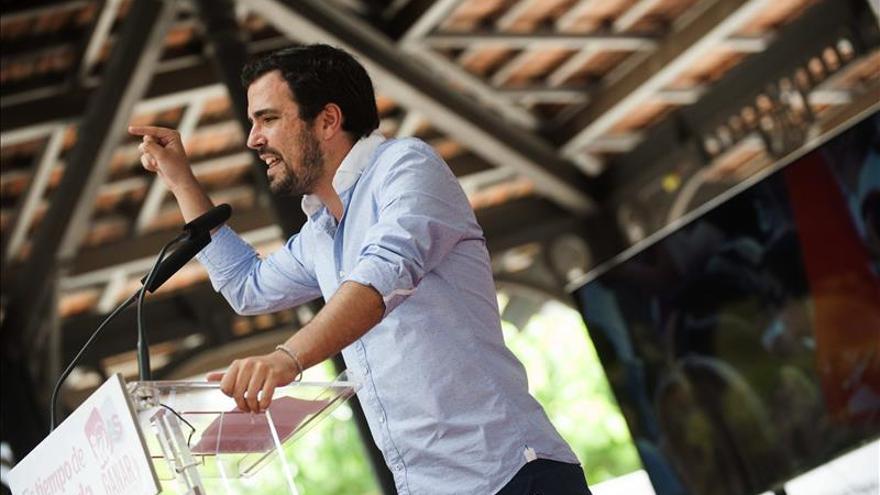 """Garzón dice que IU no apoya a Díaz """"no por berrinche sino por coherencia política"""""""