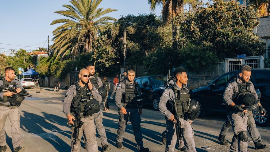 El barrio de Sheikh Jarrah, donde comenzaron las protestas pacíficas por los desalojos