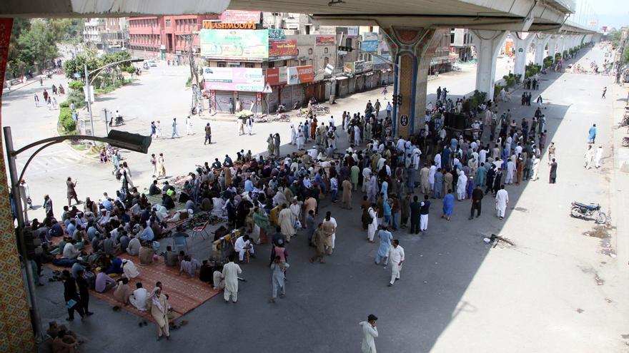 Al menos dos muertos y 40 heridos en protestas islamistas en Pakistán