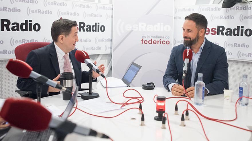 Santiago Abascal en EsRadio