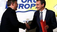 """Zapatero pone como ejemplo a Ximo Puig en la """"búsqueda de gobernabilidad"""""""