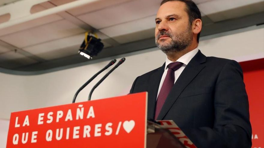 El ministro de Fomento y secretario de Organización del PSOE, José Luis Ábalos.