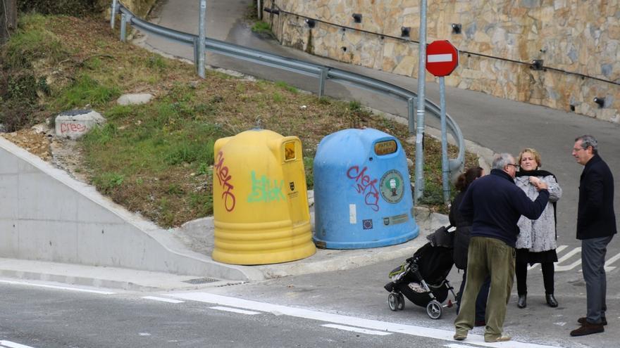 Diputación de Gipuzkoa mejora la seguridad vial en la GI-3950, en el barrio de Miraflores de Eibar