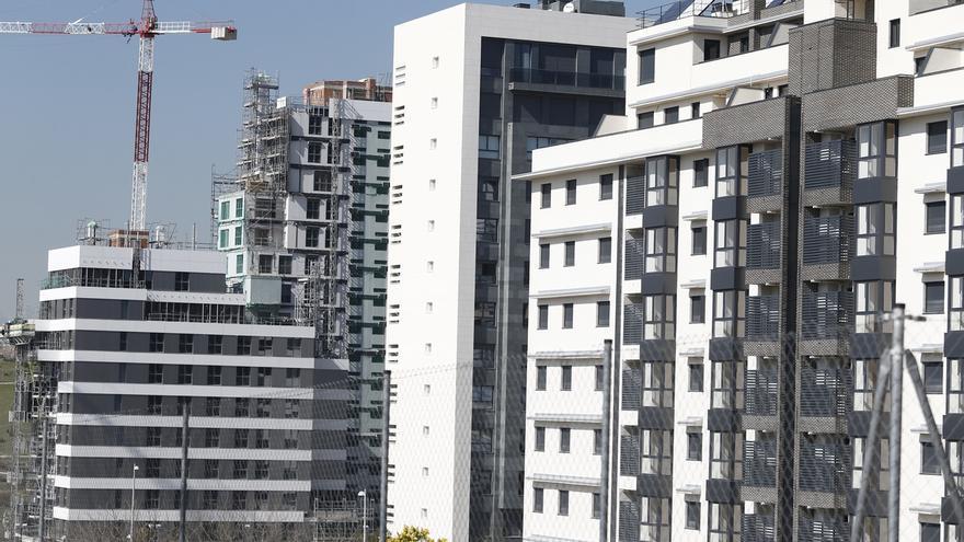 El número de viviendas libres terminadas creció un 16% en el primer trimestre, hasta los 12.097 inmuebles