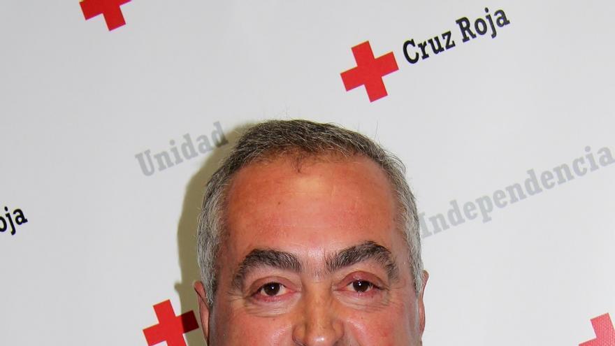 El presidente de Cruz Roja Navarra, Pedro Herrero / Foto: cedida.