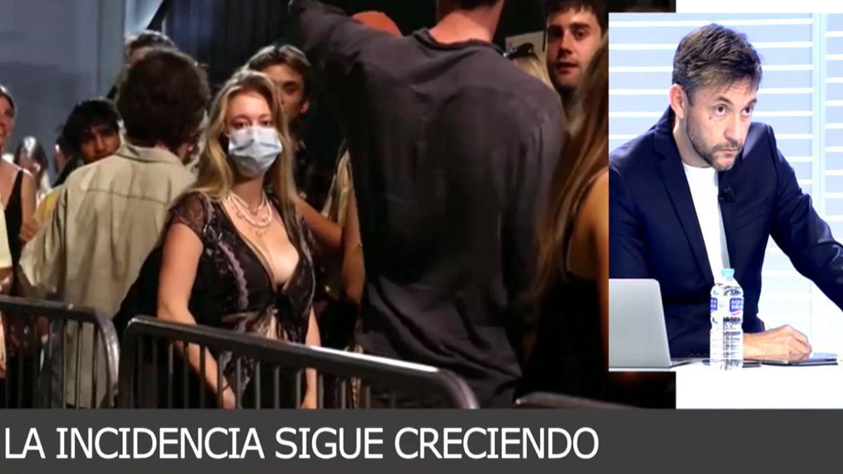 Javier Ruiz en 'Cuatro Al Día'