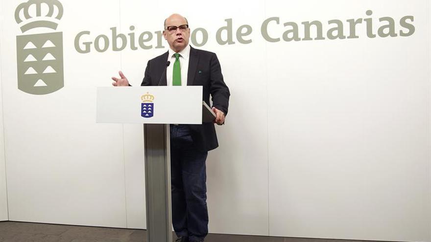 El viceconsejero de la Presidencia del Gobierno de Canarias, José Miguel Barragán