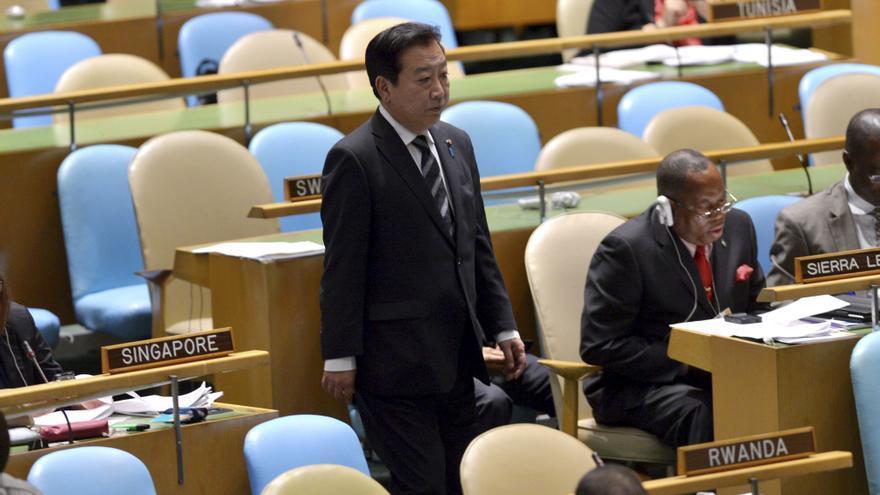 """Noda dice que Japón busca siempre una salida """"pacífica"""" a las disputas territoriales"""