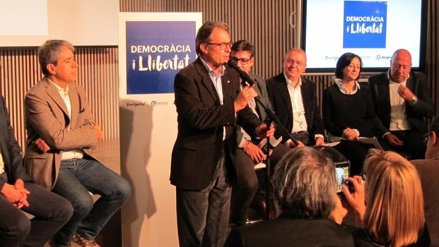 """Mas ve a Democràcia i Llibertat como la """"correa de transmisión"""" entre Cataluña y Congreso"""