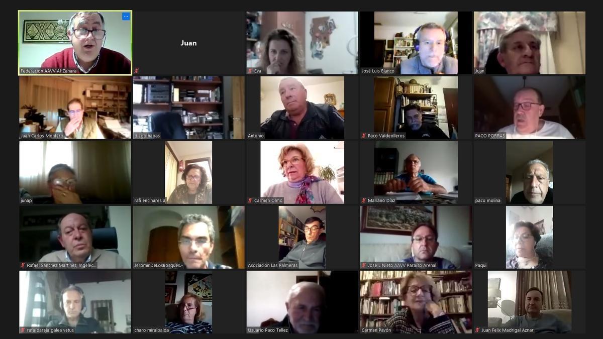 Asamblea telemática de la federación