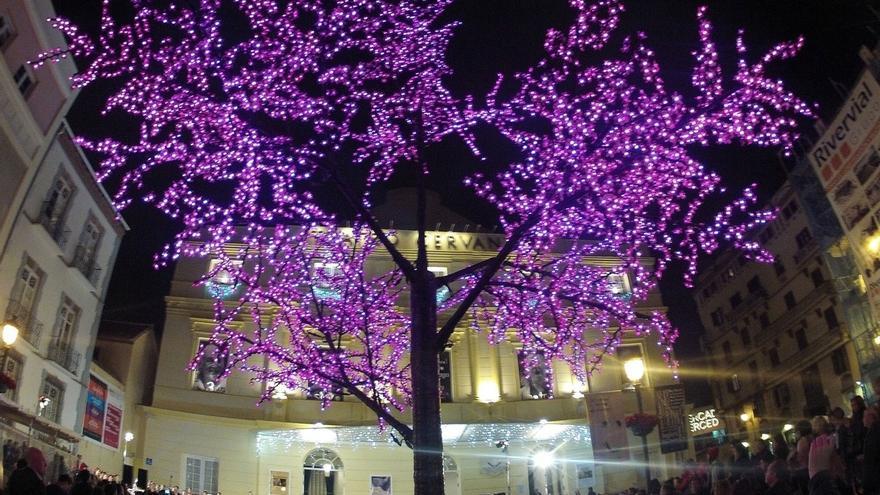 El Teatro Cervantes de Málaga anticipa este sábado la Navidad con luces y villancicos