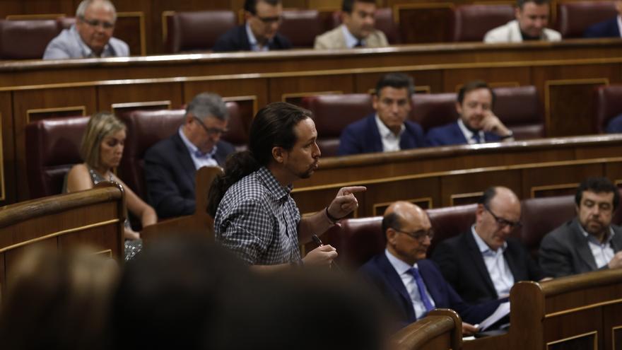 """Iglesias lamenta que el PP use la memoria de las víctimas del terrorismo """"de manera poco digna"""" para tapar su corrupción"""