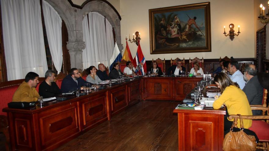En la imagen, sesión del pleno del Ayuntamiento de la capital.