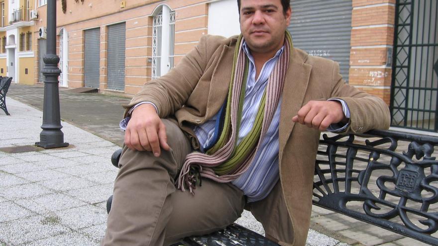 Javier Valderas, portavoz y único concejal de IU en Lepe hasta hace tres meses.